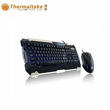 曜越鍵盤滑鼠組 KB-CMC-PLBLTC-1軍令官
