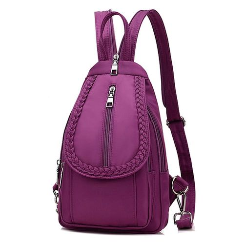 Acorn橡果-牛津布運動休閒旅遊防水背包6511(紫色)