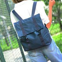 Acorn橡果-學院風牛津布潮流後背包6210(藍色)
