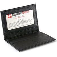 Alpine Swiss 2017瑞士薄型悠遊卡名片黑色皮夾(預購)