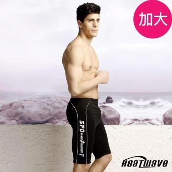 Heatwave熱浪 加大專業四角男泳褲-動感超MEN-112