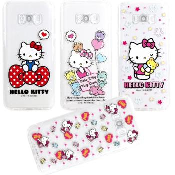 【Hello Kitty】SAMSUNG Galaxy S8+ / S8 Plus 彩繪空壓手機殼