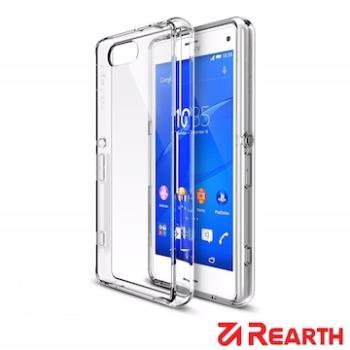 Rearth Sony Xperia Z3 Compact (Ringke Fusion)高質感透明保護殼(贈送螢幕保護貼)