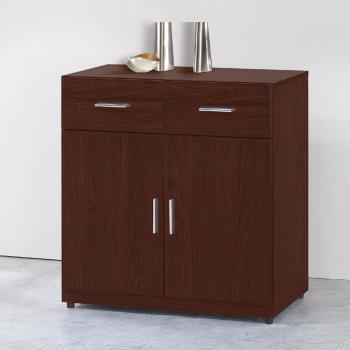 【顛覆設計】碩威2.7尺胡桃色餐櫃下座