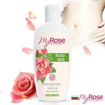 【保加利亞My rose】玫瑰彈潤亮澤潤膚乳液250ml