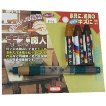 日本Nikken木製品簡易補修組 全組3支(色)+小補色筆2色(KZ-S2)