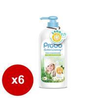 快潔適 博寶兒奶瓶蔬果洗潔精-650gX6入
