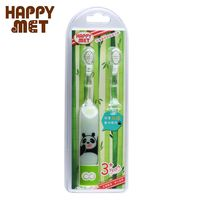 【BabyTiger虎兒寶】HAPPY MET 兒童教育型語音電動牙刷 (附替換刷頭X1) - 熊貓款