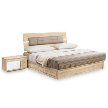 【時尚屋】[NM7]多莉絲3.5尺床片型加大單人床NM7-33-4+33-5不含床頭櫃-床墊/免運費/免組裝/臥室系列