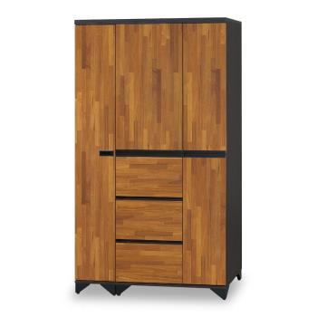 【時尚屋】[NM7]海灣3.7尺衣櫥NM7-20-1+20-2免運費/免組裝/臥室系列/衣櫥