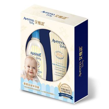 艾惟諾 嬰兒燕麥寶寶洗髮沐浴禮盒