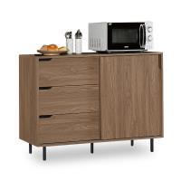 【時尚屋】[NM7]凱登4尺多功能置物櫃NM7-11-8免組裝/免運費/置物櫃