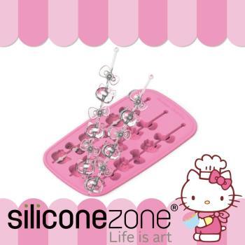 Siliconezone--施理康 Hello Kitty 多用途耐熱矽膠冰棒巧克力模