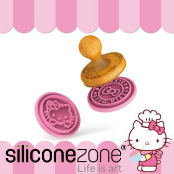 Siliconezone--施理康 Hello Kitty耐熱矽膠印章餅乾模 4圖案