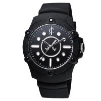 Juicy Couture Surfside 俏皮小姐時尚腕錶 黑 42mm J1900905