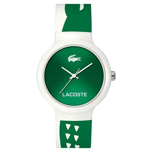 Lacoste Goa 繽紛大鱷魚趣味時尚手錶 運動錶 40mm L2020092