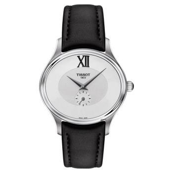 TISSOT天梭 BELLA ORA 系列小秒針女錶 銀x黑 31mm T1033101603300