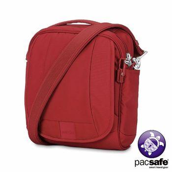 Pacsafe METROSAFE LS200 防盜單肩包(7L)(酒紅色)