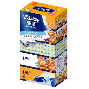 舒潔 迪士尼溫和柔感盒裝面紙(140抽x5盒x10串/箱)