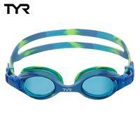 美國TYR Swimple Tie Dye-舒適抗UV兒童泳鏡