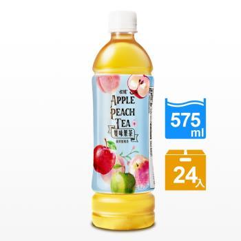 古道 雙味果茶-蘋果蜜桃575ml x24瓶
