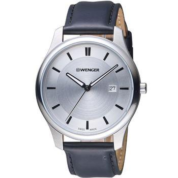 WENGER City 城市系列 經典簡約紳士腕錶 01 1441 102