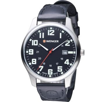 WENGER Attitude 態度系列 野營生活時尚腕錶 01.1441.112