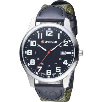 WENGER Attitude 態度系列 野營生活時尚腕錶 01.1441.113