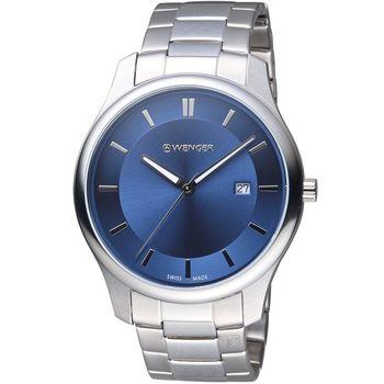 WENGER City 城市系列 經典簡約紳士腕錶 01 1441 117