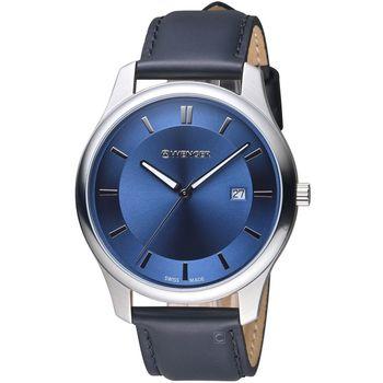 WENGER City 城市系列 經典簡約紳士腕錶 01 1441 118