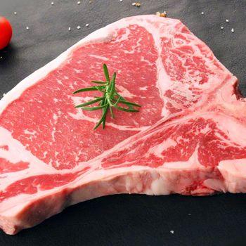 海鮮世家 18OZ美國Choice級丁骨牛排1片組 單片18盎司 單片500g
