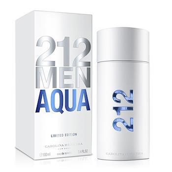 Carolina Herrera 212 AQUA男性淡香水-夏日限量版(100ml)