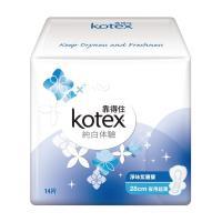 靠得住 純白體驗淨味紫羅蘭夜用超薄衛生棉28cm(14片x8包/組)