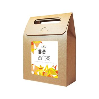 花草巫婆 薑黃杏仁茶 10入 x1袋