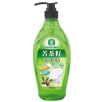 南庄農會 苦茶籽洗潔精1000mlx5瓶