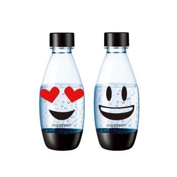 Sodastream emoji水滴寶特瓶500ml-二入