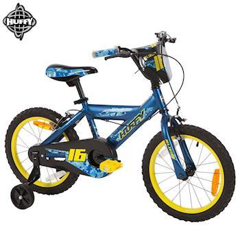 美國HUFFY-2017新款16吋男童自行車【藍色】,兒童腳踏車,輔助輪自行車