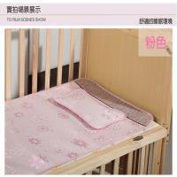 JAR嚴選 嬰兒冰絲涼蓆組-床墊+枕頭(粉/藍)