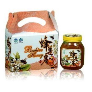 【宏基蜂蜜】蜂巢蜜500g(2瓶裝/組)共4組