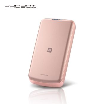 PROBOX panasonic電芯 跑車流線型超薄 8300mAh 行動電源 (玫瑰金)
