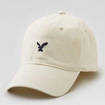 American Eagle 2017男時尚小老鷹刺繡粉筆色棒球帽(預購)