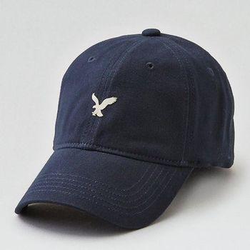 American Eagle 2017男時尚小老鷹刺繡深藍色棒球帽(預購)