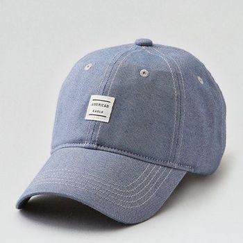 【American Eagle 】2017男時尚現代貼布款藍色棒球帽(預購)