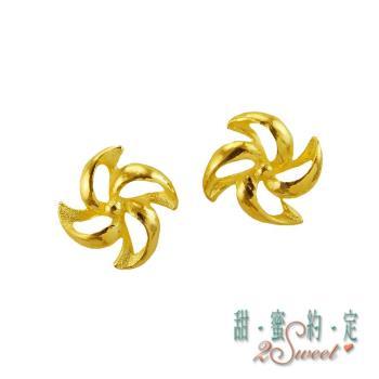 甜蜜約定純金耳環ERS63