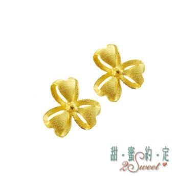 甜蜜約定純金耳環ERS62