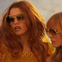 CHLOE太陽眼鏡 復古雷朋款-金色框CE128S