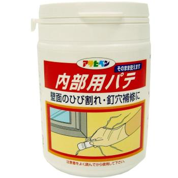 日本Asahipen油漆牆壁細紋處理/防裂填縫劑-白