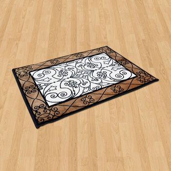 【Ambience】比利時Palmas 絲光地毯 -古典 (68x110cm)
