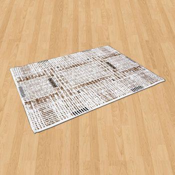 【Ambience】比利時Palmas 絲光地毯 -雪粹 (68x110cm)