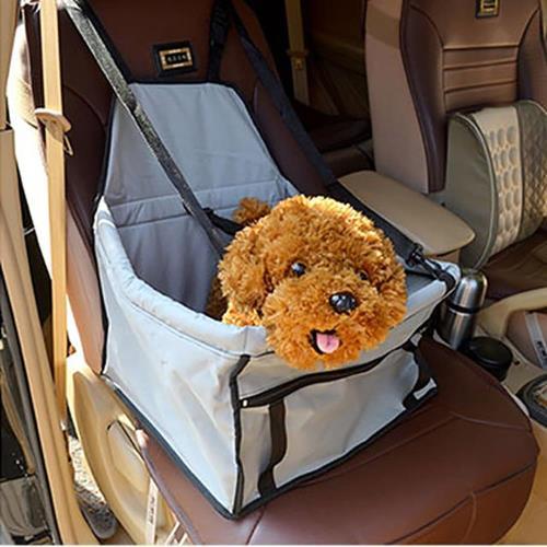 【寵物貴族】高質感汽車安全樂趣籃/寵物汽車安全座椅/寵物外出包/寵物行李包/行動寵物窩/寵物安全帶